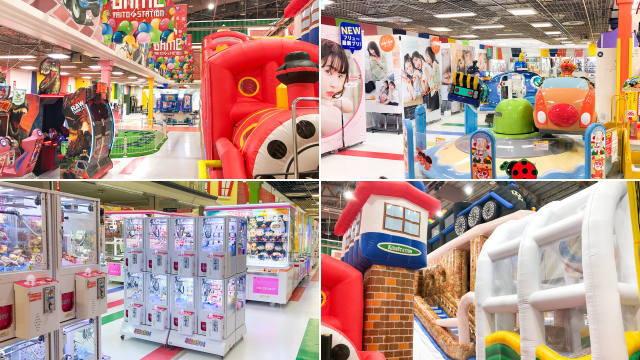 ゆめタウン東広島4F ゲームセンター「タイトーFステーション」がリニューアル