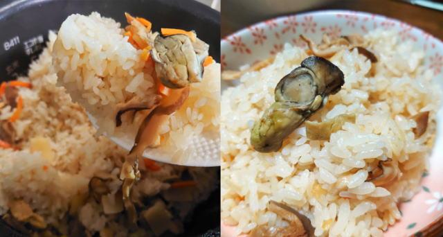 阿藻珍味の「かきめしの素」で簡単に広島の味