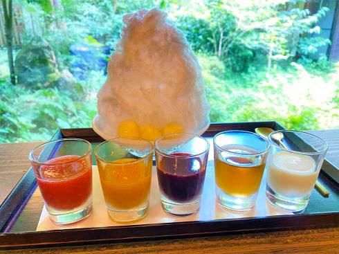 福智院、世羅でお茶・かき氷など和スイーツが人気の宿坊カフェ