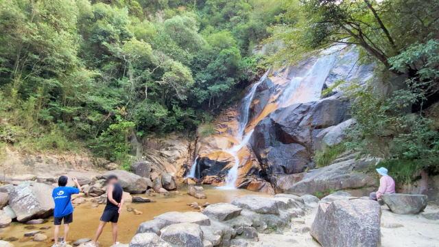 妹背の滝 写真
