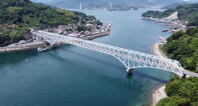 蒲刈大橋(かまがりおおはし)とびしま海道