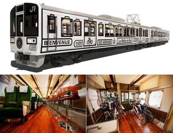 瀬戸内の観光列車「ラ・マル・ド・ボァ」岡山・尾道・琴平・長船へ秋冬の週末旅