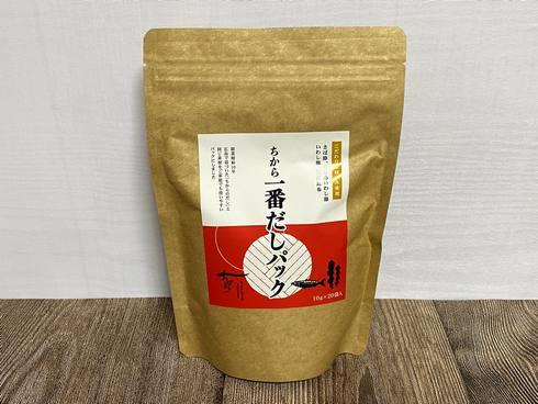 広島のうどん「ちから」一番だしパック、30袋入り