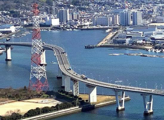 海田大橋のETC料金、値下げで半額に
