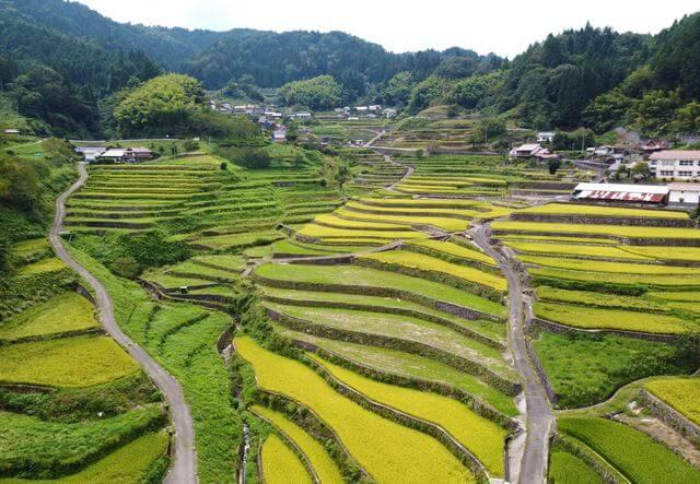 井仁の棚田、広島・安芸太田町の「世界に誇る美しい日本の風景」