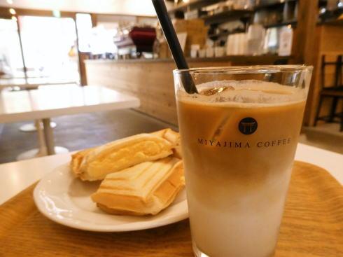 宮島珈琲、表参道商店街に香り漂わせる立ち寄りカフェ