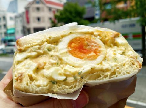 広島パルコ・パイパーラーパリジャン、サンドイッチ「悪魔のたまご」