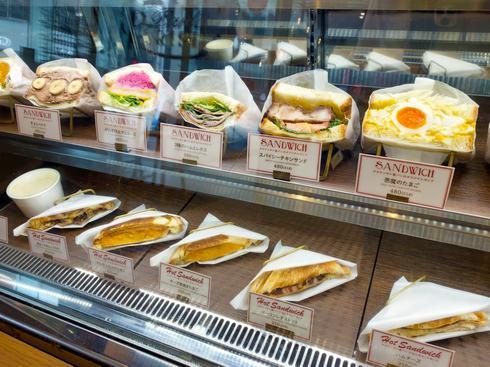 サンドイッチのお持ち帰り、広島パルコ1F「パイパーラーパリジャン」でテイクアウトメニューも