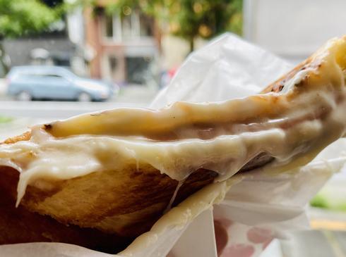広島パルコ・パイパーラーパリジャンのハムチーズ(ホットサンド)